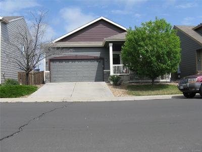Commerce City Single Family Home Under Contract: 9845 Eagle Creek Circle