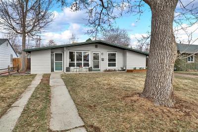 Denver Single Family Home Active: 1270 South Fairfax Street