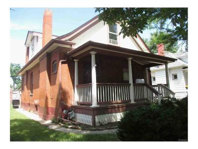 Denver Single Family Home Active: 3525 Clay Street