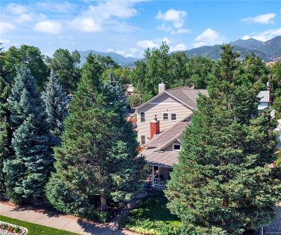 Colorado Springs Single Family Home Under Contract: 2327 West Kiowa Street