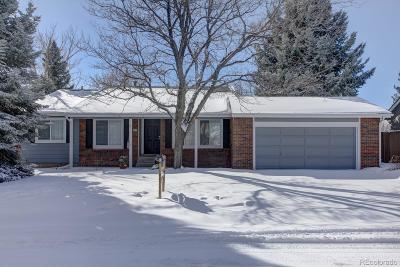 Highlands Ranch Single Family Home Under Contract: 63 Prairie Ridge Road