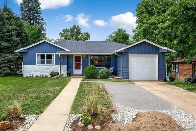 Wheat Ridge Single Family Home Under Contract: 4295 Lamar Street