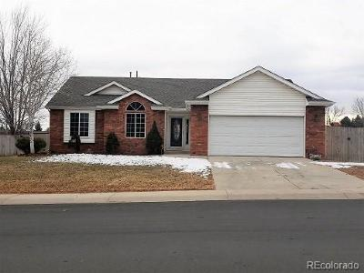 Greeley Single Family Home Under Contract: 4104 West 17th Street