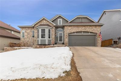 Highlands Ranch Single Family Home Under Contract: 9752 Clairton Place