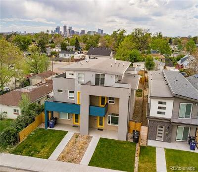 Denver Condo/Townhouse Active: 1812 West 46th Avenue