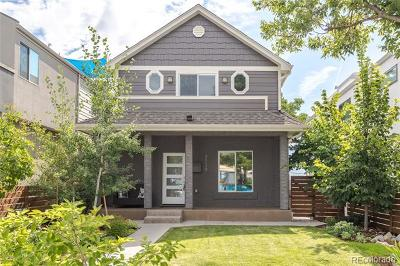 Denver Single Family Home Active: 3530 Pecos Street