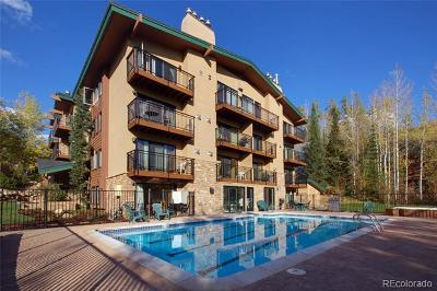 Steamboat Springs Condo/Townhouse Active: 2883 Burgess Creek Road #204