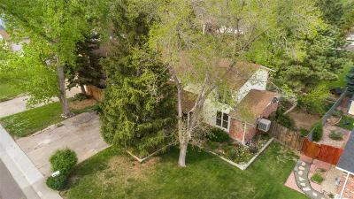 Littleton Single Family Home Active: 7666 South Ingalls Street