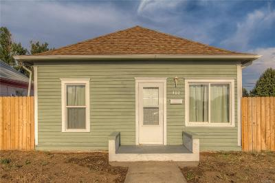 Fort Lupton Single Family Home Under Contract: 402 Harrison Avenue
