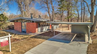 Denver Single Family Home Active: 2600 South Garfield Way