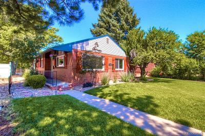 Park Hill, Parkhill Single Family Home Active: 3515 Fairfax Street
