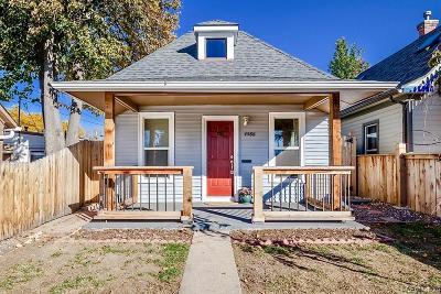 Denver Single Family Home Active: 4586 Zenobia Street