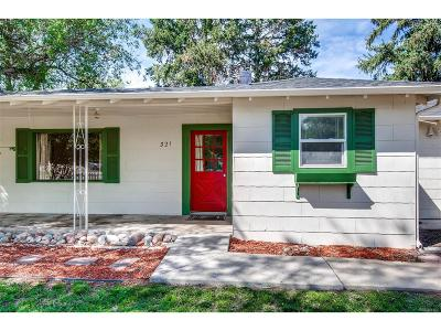 Elbert County Single Family Home Under Contract: 321 East Grant Street