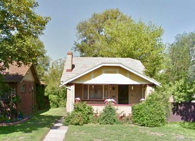 Denver Single Family Home Sold: 839 South Clarkson Street