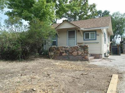 Denver Single Family Home Active: 370 South Stuart Street