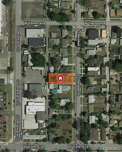 Residential Lots & Land Active: 2641 South Cherokee Street