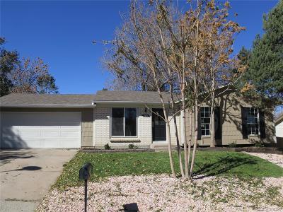 Aurora Single Family Home Active: 2485 South Memphis Way