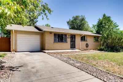 Arvada Single Family Home Active: 9033 West 53rd Avenue