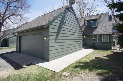 Littleton Condo/Townhouse Under Contract: 8024 South Culebra Peak