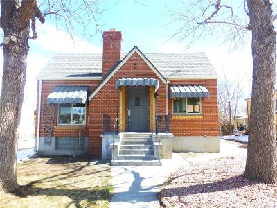 Wheat Ridge Single Family Home Under Contract: 3708 Ames Street