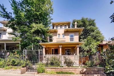 Denver Single Family Home Under Contract: 648 Clarkson Street