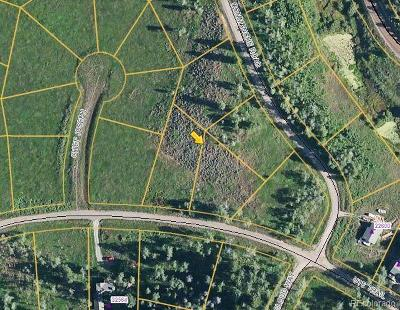 Residential Lots & Land Active: 32551 Ute Trail