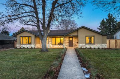 Denver Single Family Home Active: 3248 South Albion Street