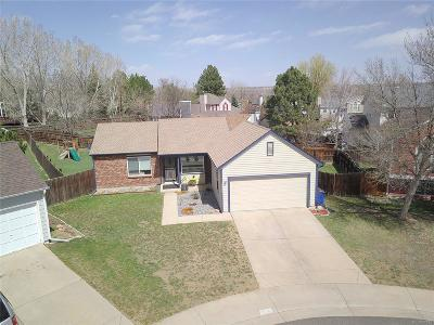 Arvada Single Family Home Active: 13245 West 63rd Circle