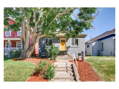Denver Single Family Home Active: 1538 Albion Street