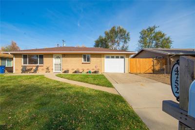 Wheat Ridge Single Family Home Under Contract: 4752 Cody Street