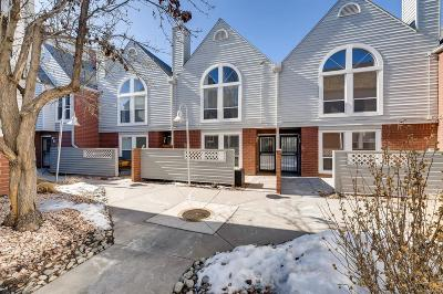 Denver Condo/Townhouse Active: 1025 Jasmine Street #6