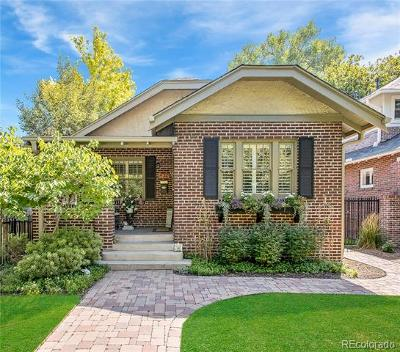 Denver Single Family Home Active: 430 North Franklin Street