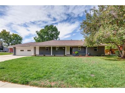 Denver Single Family Home Active: 2337 South Elm Drive