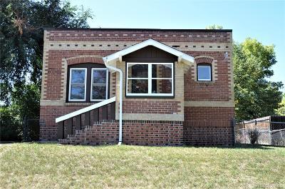 Denver Single Family Home Under Contract: 1037 Hooker Street