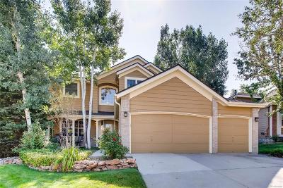 Lone Tree Single Family Home Under Contract: 8040 Lodgepole Trail