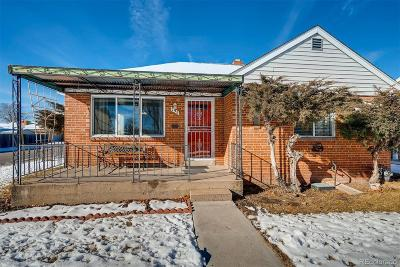 Denver Single Family Home Under Contract: 795 South Clay Street