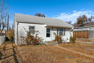 Greeley Single Family Home Under Contract: 2305 5th Avenue