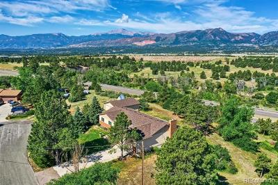 El Paso County Single Family Home Active: 1610 Delta Road