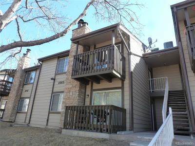 Aurora Condo/Townhouse Under Contract: 1865 South Pitkin Circle #B