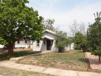 Fort Lupton Single Family Home Under Contract: 612 McKinley Avenue