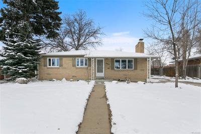 Broomfield Single Family Home Under Contract: 890 West 1st Avenue