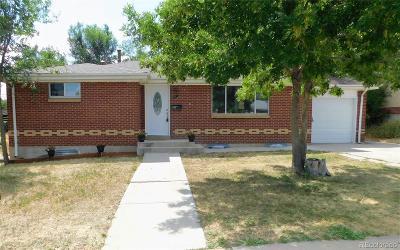 Denver Single Family Home Active: 851 Winona Court