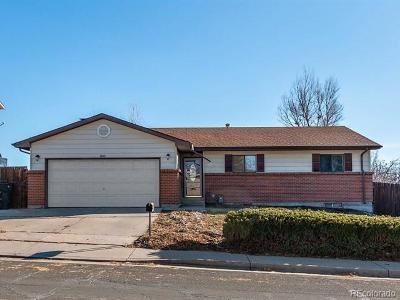 Thornton Single Family Home Under Contract: 9640 Pecos Street