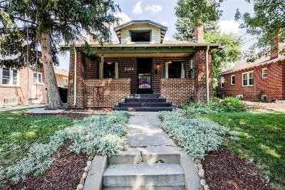 Park Hill, Parkhill Single Family Home Active: 2568 Clermont Street