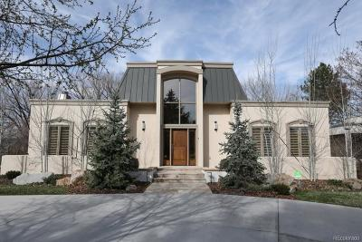 Boulder Single Family Home Active: 5183 Idylwild Trail