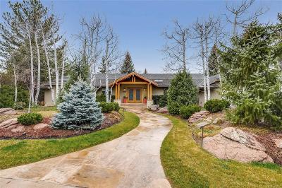Boulder Single Family Home Under Contract: 6970 Indian Peaks Trail