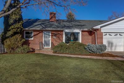 Littleton Single Family Home Under Contract: 1309 West Ridge Road