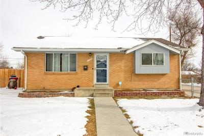 Northglenn Single Family Home Under Contract: 11434 Emerson Street