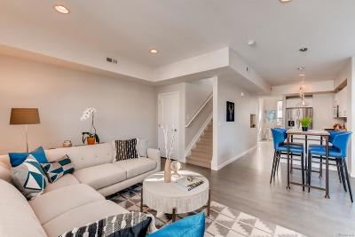 Denver Condo/Townhouse Under Contract: 1893 Vine Street #106
