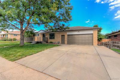 Northglenn Single Family Home Active: 1521 Coring Place